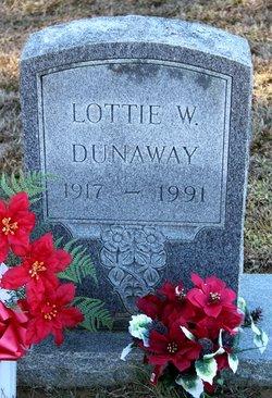 Lottie <i>Waller</i> Dunaway