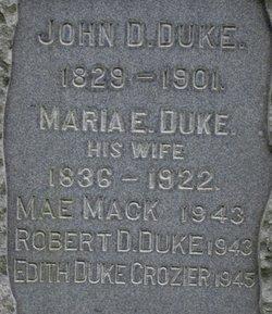 Edith <i>Duke</i> Crozier