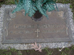 Charles Edwin Greene