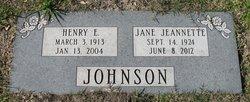 Jane Jeannette <i>Laramore</i> Johnson