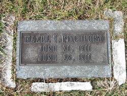Hazel I Pitchford
