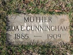 Ada E <i>Pitchford</i> Cunningham