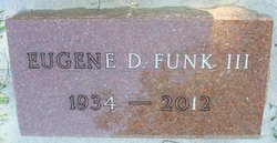 Eugene D. Curly Funk