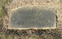 Hattie Florence <i>Howard</i> Wolf