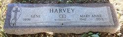 Mary Anne <i>Wright</i> Harvey