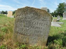 Mary W Carress