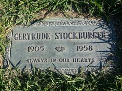 Ossie Gertrude <i>Brown</i> Stockburger