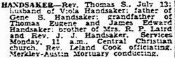 Thomas Samuel Handsaker