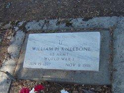 William Henry Franklin Billy Kneebone