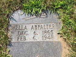 Ellen Ella <i>Soechtig</i> Abfalter