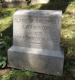 Clarissa Caldwell Lathrop