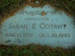 Sarah <i>Eastman</i> Cotant