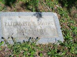 Elizabeth <i>Burgess</i> Boling