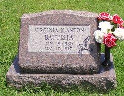 Virginia Ginger <i>Blanton</i> Battista
