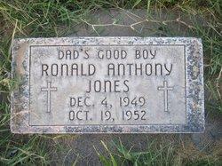 Ronald Anthony Ronnie Jones