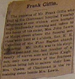 Frank Giffin