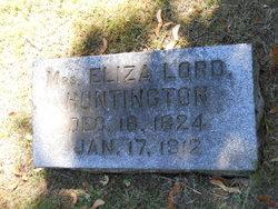 Mrs Eliza Bartlett <i>Lord</i> Huntington