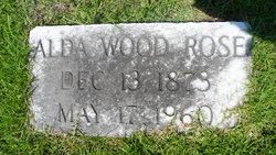 Alda <i>Woodruff</i> Rose