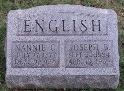 Nancy Catherine Nannie <i>Mabry</i> English