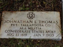 Pvt Johnathan L. Thomas