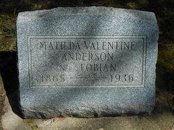 Matilda Valentine <i>Fobian</i> Anderson