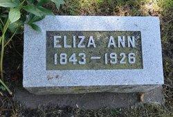 Eliza Ann <i>Richardson</i> Barricklow