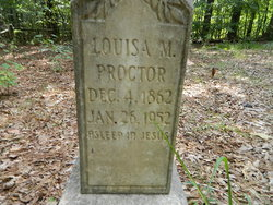 Louisa Mahalia Proctor