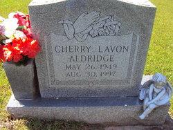 Cherry Lavon <i>Blalock</i> Aldridge
