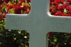 PFC Delbert D Blankenship