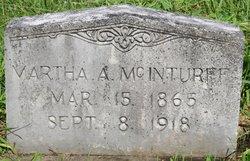 Martha A McInturff