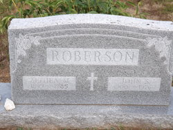 Althea Mary <i>Hollenbeck</i> Roberson