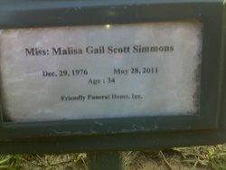 Malisa Gail <i>Scott</i> Simmons