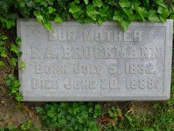 Fredericka Amelia <i>Detert</i> Bruckmann