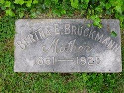 Bertha Elizabeth <i>Schmidt</i> Bruckmann