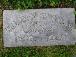 William M Bruckmann