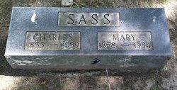 Mary <i>Bulow</i> Sass