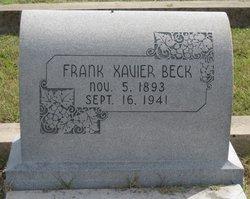 Frank Xavier Beck