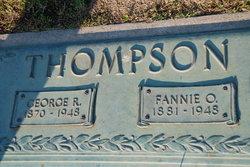 Fannie <i>Greiner</i> Thompson