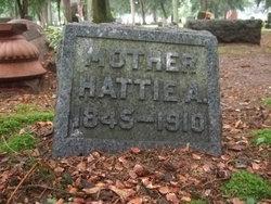 Harriet Ann Hattie <i>Van Deusen</i> Barrett