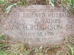 Jack Harold Robinson, Sr