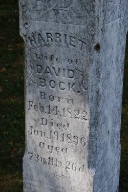 Harriett <i>Dawson</i> Bock
