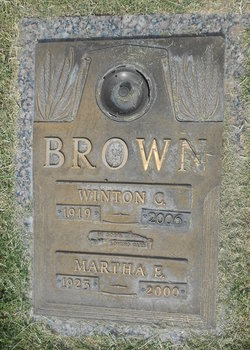 Winton C Brownie Brown