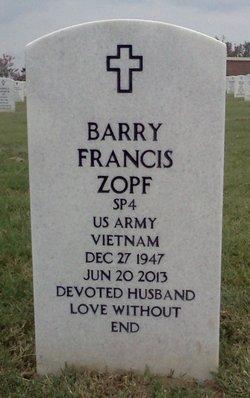 Barry Francis Zopf