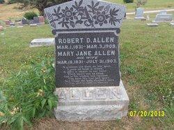 Robert D Allen
