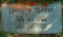 Sarah Melinnie Linnie <i>Waters</i> Turpin