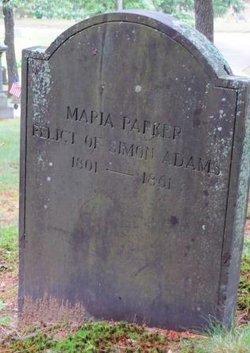 Maria <i>Parker</i> Adams