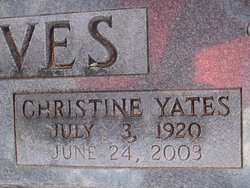 Christine <i>Yates</i> Graves