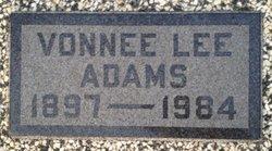 Vonnee Lee Adams