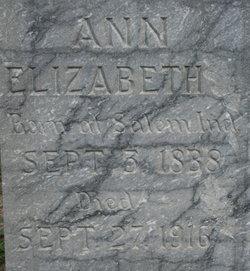 Ann Elizabeth Souders