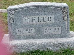 Irene D M <i>Palmer</i> Ohler